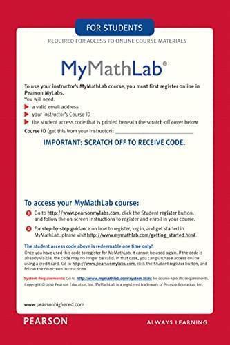 Mymathlab coupon code